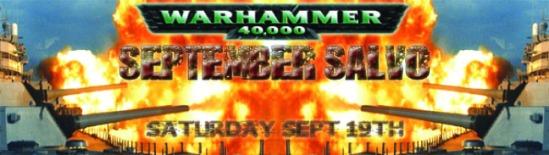 September Salvo: September 19, 2009