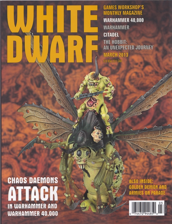 White Dwarf 2013 March Front Cover
