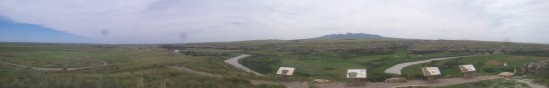 flatland & hills panorama