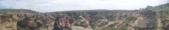 hoodoo & family panorama